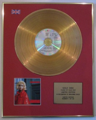 DAVE STEWART -Ltd CD 24 Carat Gold Disc-LILY WAS HERE