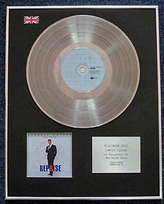 Russell Watson - Limited Edition CD Platinum LP Disc - The Voice - Reprise