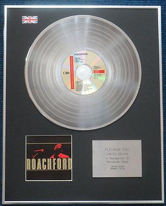 Andrew Roachford- Limited Edition CD Platinum LP Disc - Roachford
