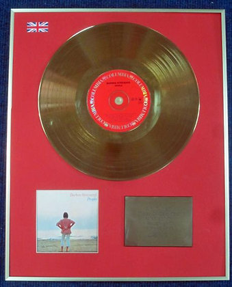 BARBRA STREISAND - Limited Edition CD 24 Carat Gold Coated LP Disc - PEOPLE