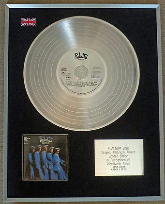 RUBETTES - Limited Edition CD Platinum LP Disc - THE BEST OF