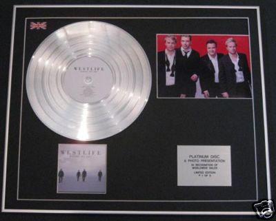 WESTLIFE - Ltd CD Platinum Disc+Photo - WHERE WE ARE