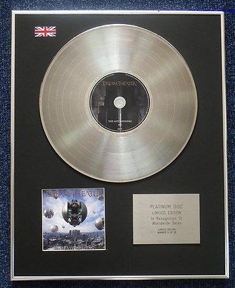Dream Theater - Limited Edition CD Platinum LP Disc - Astonishing