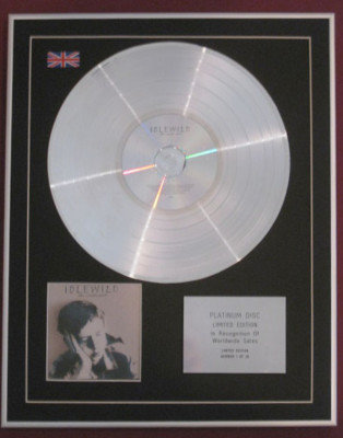 IDLEWILD  -Ltd Edtn CD Platinum Disc - THE REMOTE PART