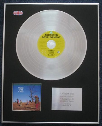Arrested Development - Limited Edition CD Platinum LP Disc - 3 Years, 5 Months