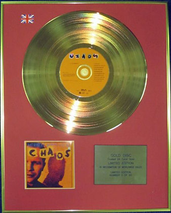 HERBERT GRONEMEYER - Chaos - Ltd Edition CD 24 Carat Gold Disc - CHAOS