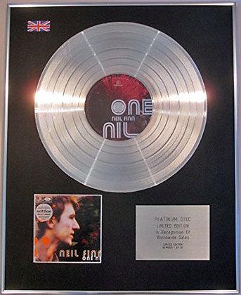 Neil Finn -(Of Crowded House) Ltd Edtn   - One Nil