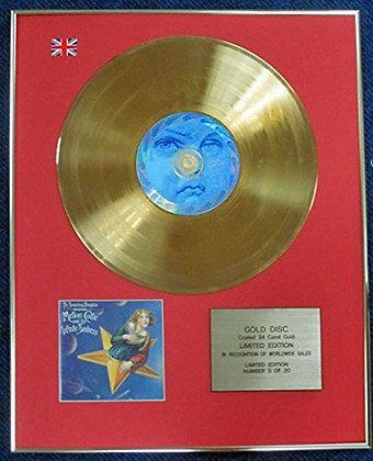 Smashing Pumpkins - LTD Edition CD 24 Carat Gold Coated LP Disc - Mellon Collie
