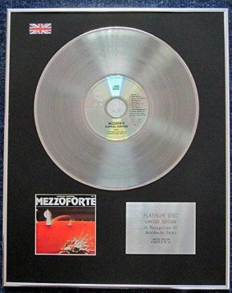 Mezzoforte - Limited Edition CD Platinum LP Disc - Surprise Surprise