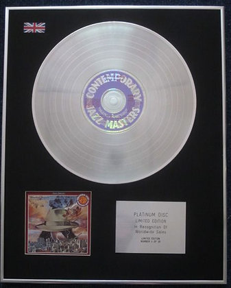 WEATHER REPORT - Limited Edition CD Platinum LP Disc - HEAVY WEATHER