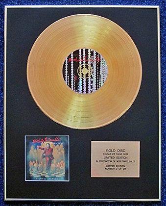 Michael Jackson - LRD Edition CD 24 Carat Gold Coated LP Disc - Blood on…