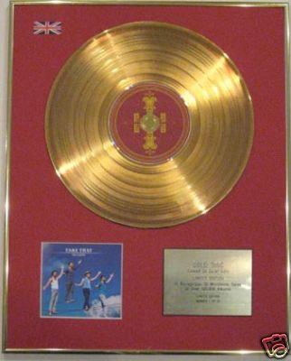 TAKE THAT - Ltd Edt 24 Carat CD Gold Disc - THE CIRCUS