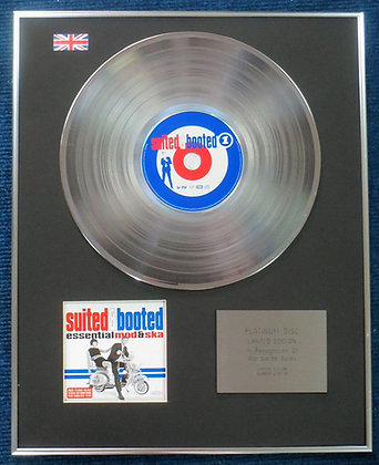 Suited & Booted - Limited Edition CD Platinum LP Disc - Essential Mod & Ska