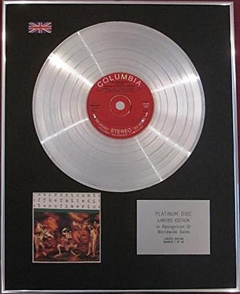 PRESIDENTS OF THE UNITED STATES...Platinum Disc