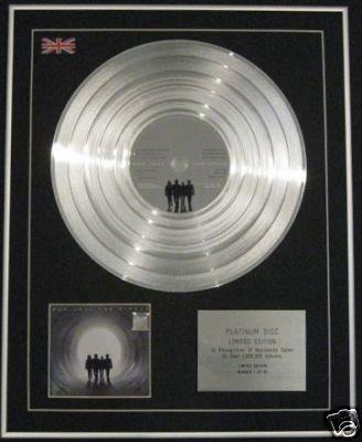 BON JOVI - Ltd Edition CD Platinum Disc -THE CIRCLE