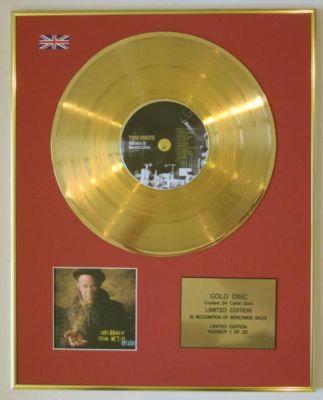 TOM WAITS -Ltd Edtn CD Gold Disc-GLITTER & DOOM LIVE