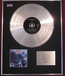 STEVE MILLER BAND CD Platinum Disc - SAILOR