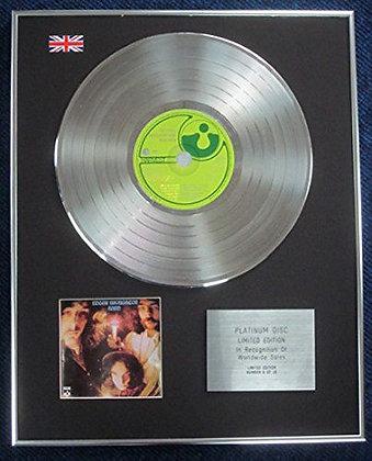 EDGAR BROUGHTON BAND - Limited Edition CD Platinum LP Disc - WASA WASA