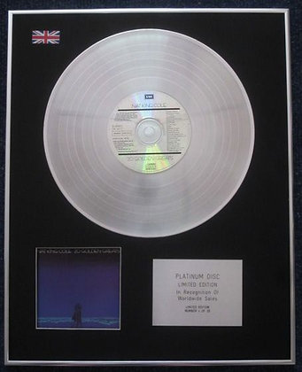 NAT KING COLE - Limited Edition CD Platinum LP Disc - 20 GOLDEN GREATS