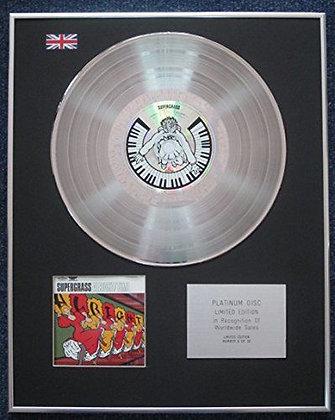 Supergrass - Limited Edition CD Platinum LP Disc - Alright