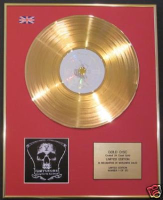 GOATWHORE-CD 24 Carat Gold Disc-CARVING OUT THE EYES OF
