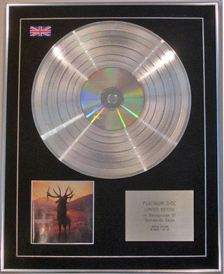 KOSHEEN - Limited Edition CD Platinum Disc - RESIST