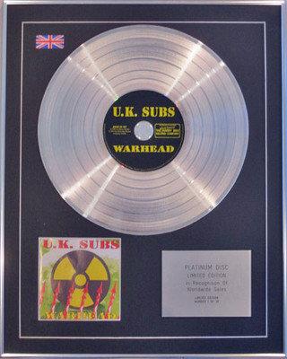 U.K.Subs   - Ltd Edition   - Warhead