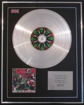 KARLOFF - CD Platinum Disc- NIGHT OF THE LIVING DEAD