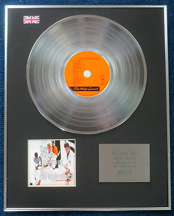 Style Council - Limited Edition CD Platinum LP Disc - Singular?