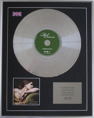 MADELEINE PEYROUX -  CD Platinum Disc - HALF THE PERFECT WORLD