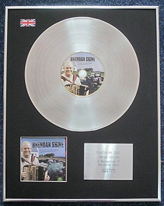 Brendan Shine - CD Platinum LP Disc - I'll Settle for Old Ireland