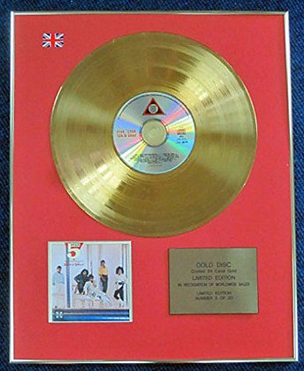 Five Star- Limited Edition CD 24 Carat Gold Coated LP Disc - Silk and Steel