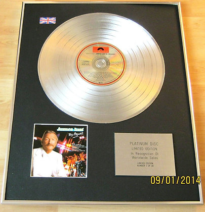 JAMES LAST - CD Platinum Disc - BY REQUEST