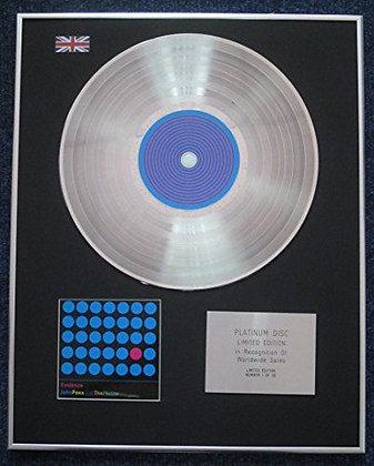 John Foxx and the Maths - Limited Edition CD Platinum LP Disc -Evidence