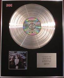 TODD RUNDGREN - CD Platinum Disc - HERMIT OF MINK HOLLOW