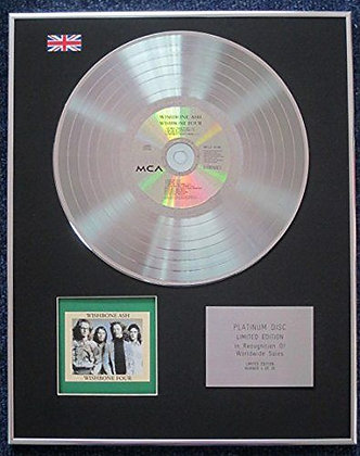 Wishbone Ash - Limited Edition CD Platinum LP Disc - Four