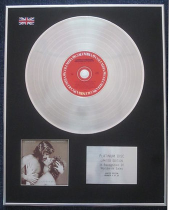 BARBRA STREISAND - Limited Edition CD Platinum LP Disc - A STAR IS BORN