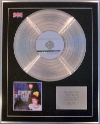 STRAWBERRY SWITCHBLADE-Limited Edition CD Platinum Disc-THE PLATINUM COLLECTION