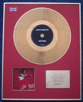 LENNY KRAVITZ - Limited Edition CD 24 Carat Gold Coated LP Disc - LENNY/BATISM