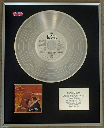 Frank Sinatra  -Songs For Swingin' Lovers