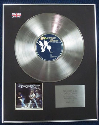STATUS QUO - Limited Edition CD Platinum Disc - GOT YOU COVERED