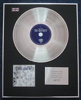 Grant Hart - Limited Edition CD Platinum LP Disc - The Argument
