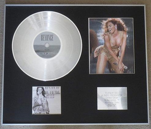 BEYONCE - Platinum Disc CD Single + Photo - HALO