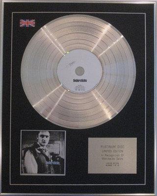 TINDERSTICKS  - Ltd Edition CD Platinum Disc - TINDERSTICKS 11