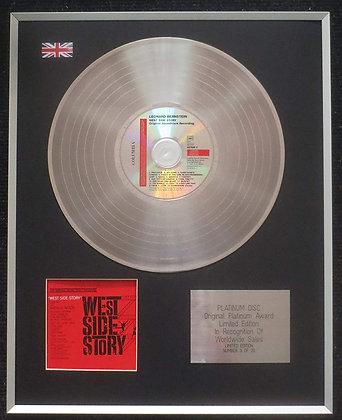 West Side Story - Limited Edition CD Platinum LP Disc - Original Soundtrack