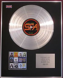 SUPER FURRY ANIMALS -  CD Platinum Disc - FUZZY LOGIC