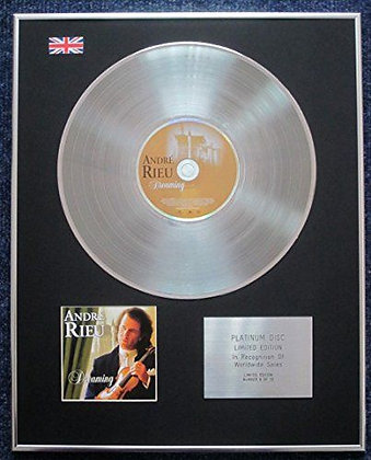 Andr? Rieu - Limited Edition CD Platinum LP Disc - Dreaming