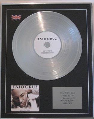 TAIO CRUZ -CD Platinum Disc- DEPARTURE