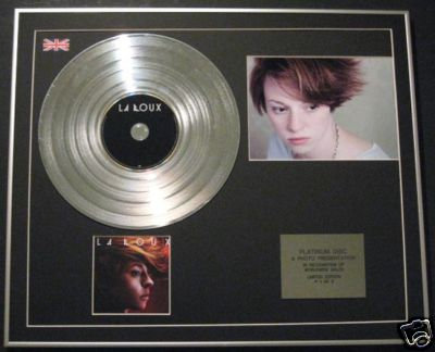 "LA ROUX - Ltd Edtn CD Platinum Disc+Photo - ""LA ROUX"""
