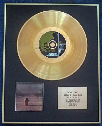Ben Harper - Exclusive Limited Edition 24 Carat Gold Disc - Diamonds On the Insi